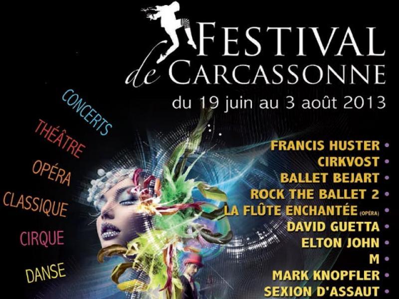 Le programme du festival de la Cité de Carcassonne 2013