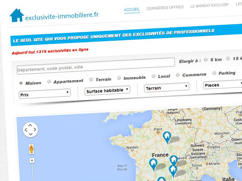 exclusivite-immobiliere.fr – le 1er portail dédié aux mandats exclusifs