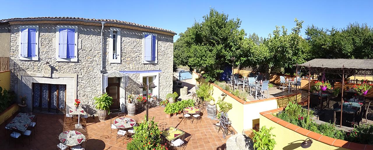 O manger carcassonne le jardin de l 39 estagnol - Restaurant terrasse jardin grenoble mulhouse ...