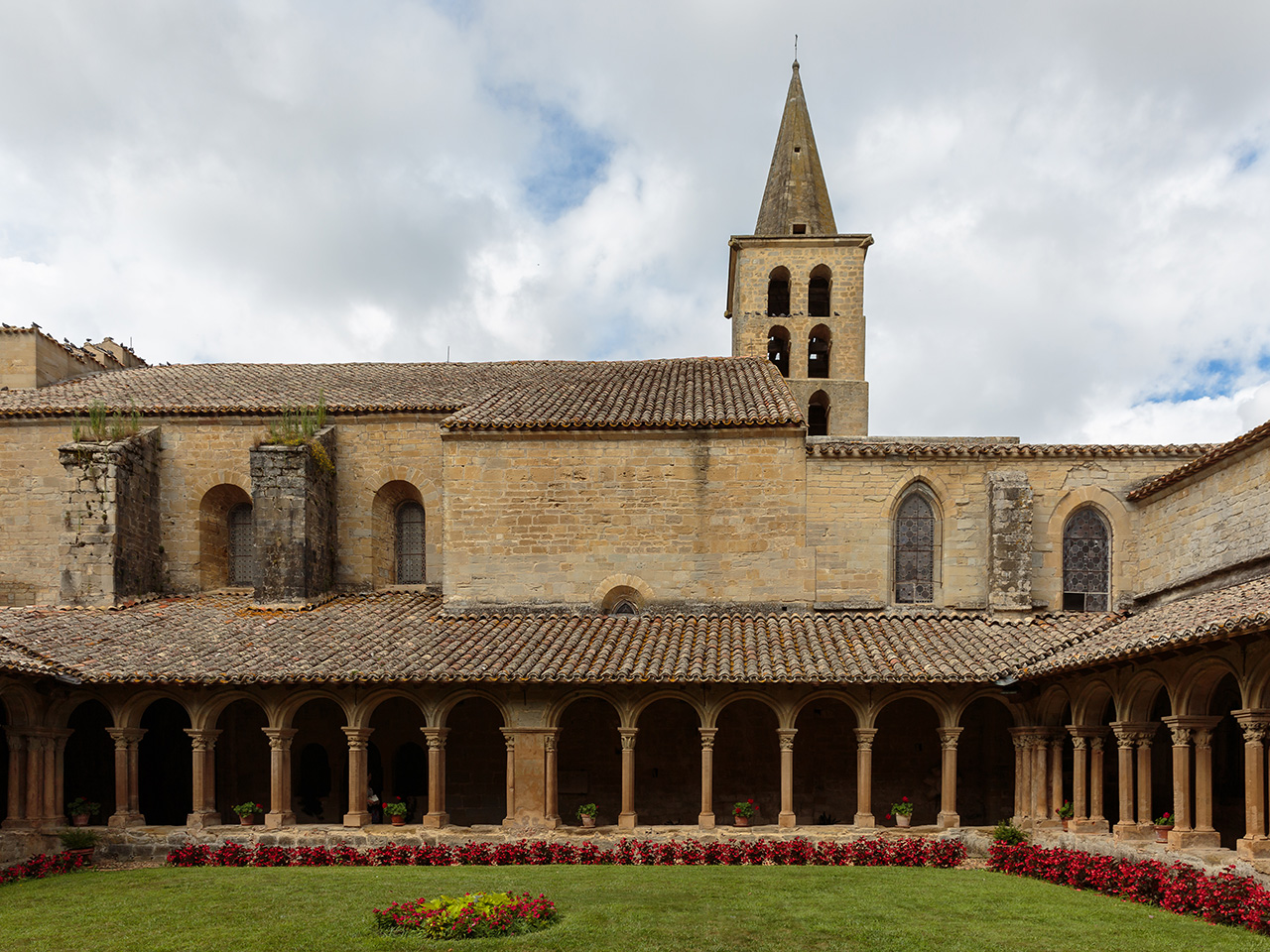 Les abbayes de l'Aude – abbaye de Saint-Papoul