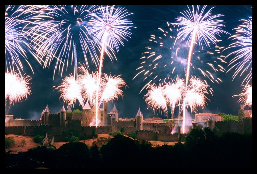 L'embrasement de la Cité de Carcassonne 2013