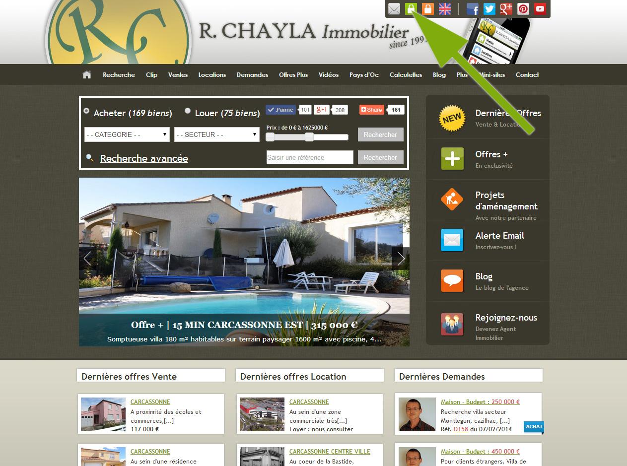 Nouvel espace propriétaire mandant sur notre site