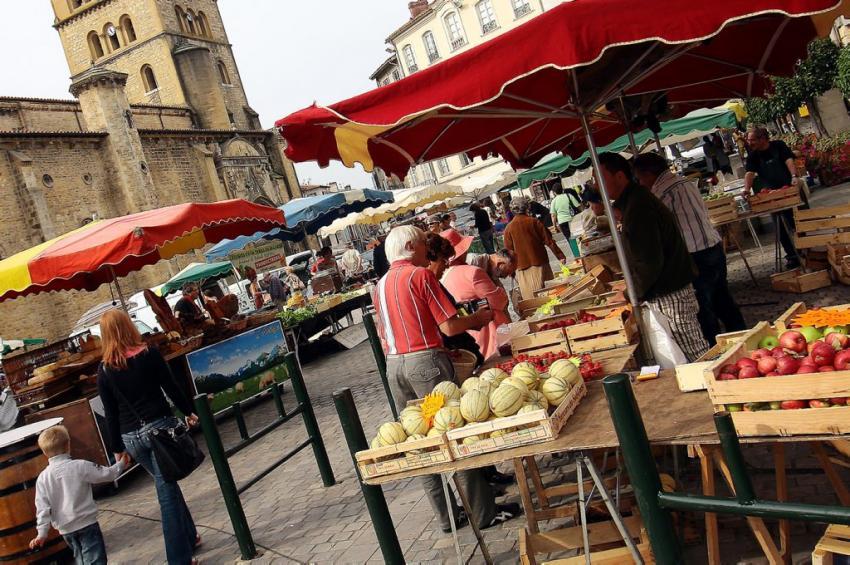Les marchés de Terroir de l'Aude, Pays Cathare
