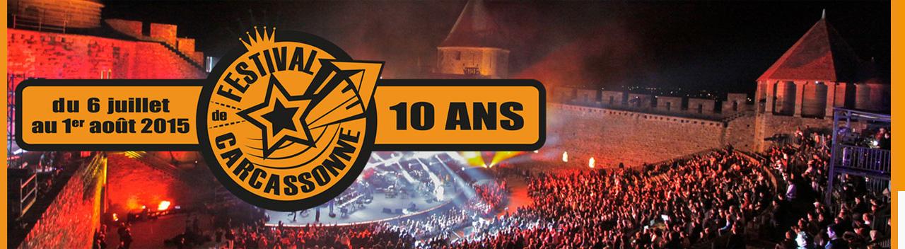 Festival de la Cité de Carcassonne 2015 : le programme