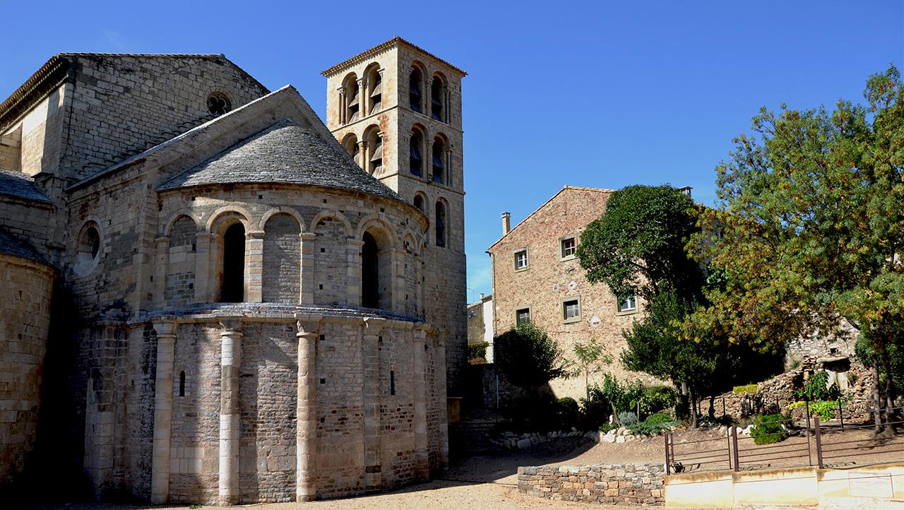 Les abbayes de l'Aude – abbaye de Caunes-Minervois