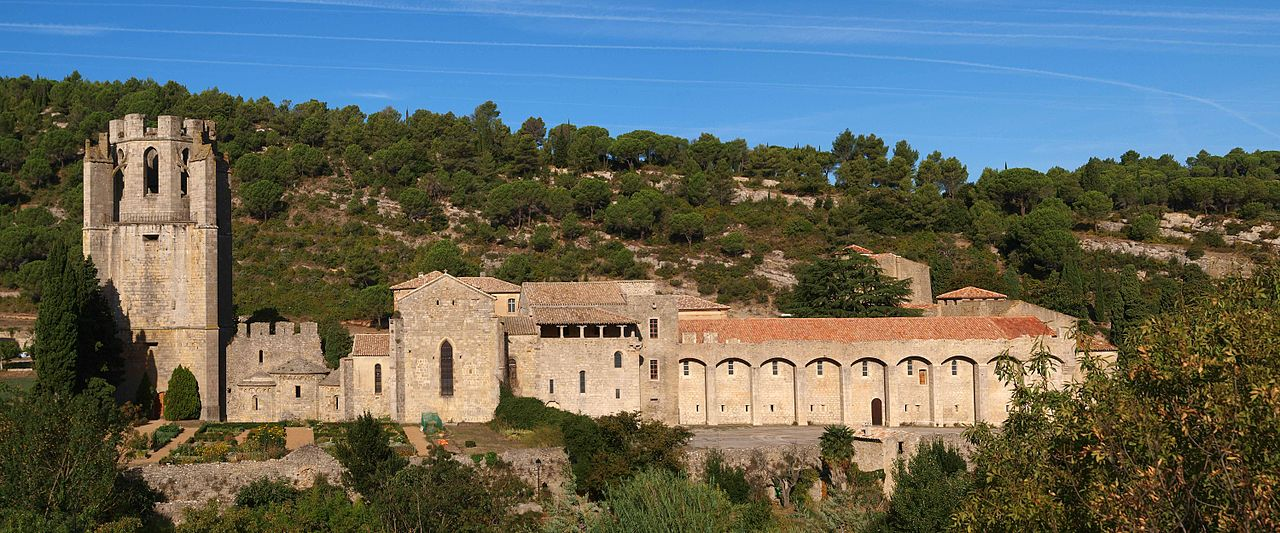 Les abbayes de l'Aude – abbaye de Lagrasse