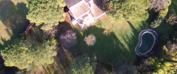 Nouvelle vidéo drone – Villa à 10 min de Carcassonne