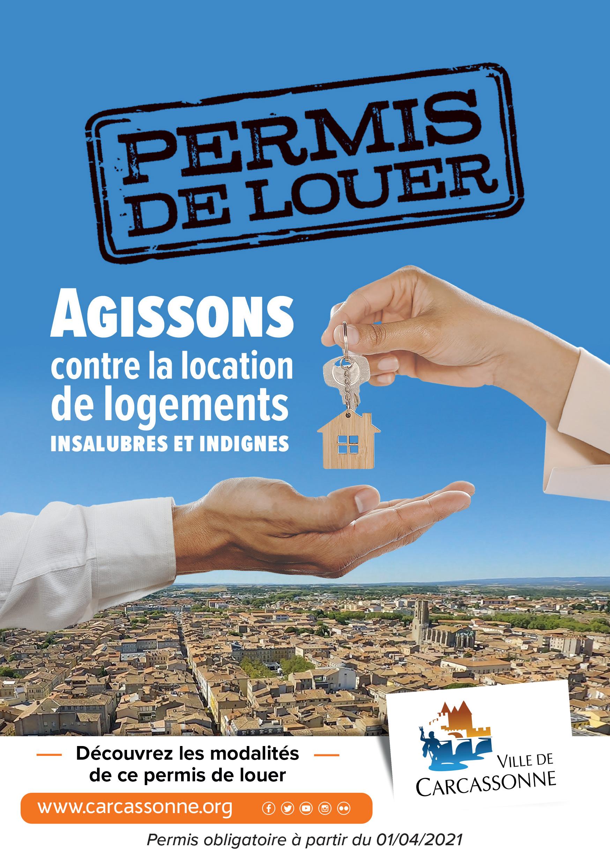 Permis de louer Carcassonne